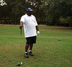 &quot;Mind if I play through?&quot; Scarface hits the links at Hermann Park.