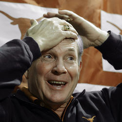 Mack Brown looked a lot less genius-y without VY or Colt.