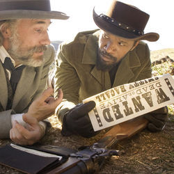 "Tarantino saw Django as an ""über-masculine black male figure of folklore."""