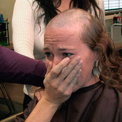 Cancer-stricken women search for companionship at a local beauty shop.