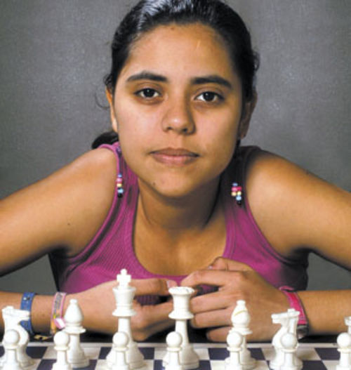 Nadya Ortiz got a chess scholarship to play in the U.S.