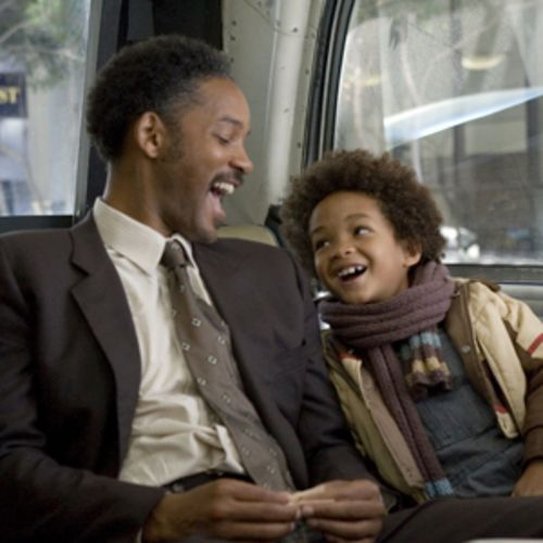 The only actor the audience will buy is Jaden Christopher Syre Smith in the part of the son -- because he is, in fact, Will Smith's son.