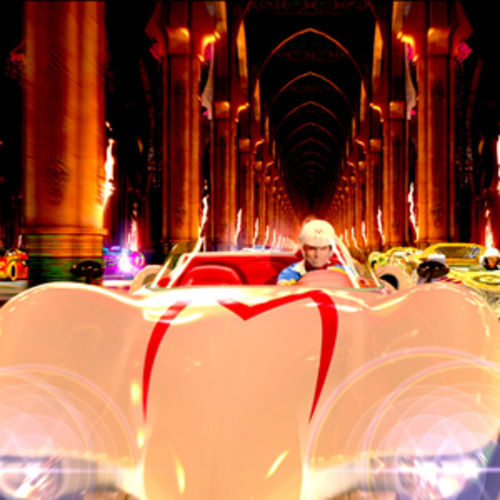 Speed Racer is a cathedral of glitz.