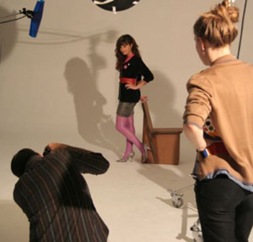 The price of fame: A six-hour-plus photo shoot for Teen magazine in Los Angeles hardly fazed Lovato.