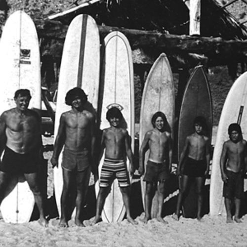 The Paskowitz brood ran the family surf camp together.