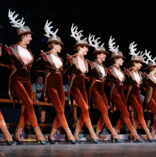 The Rockettes kick it to thunderous applause.