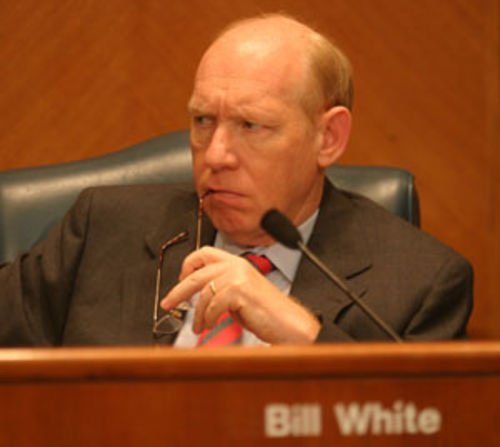 "A spokesman for Mayor Bill White says White believes solving BARC's problems is ""going to take a community solution."""