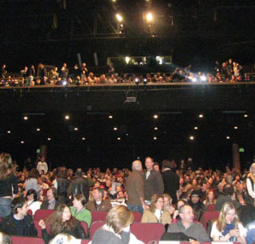 A crowd jammed into the 1,300-plus-seat Eccles Theatre in Park City, Utah, for this year's Sundance Festival and the first public screening of I Love You Phillip Morris.