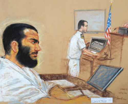 Imprisoned since 2002, Omar Khadr is the only Westerner held in the Guantánamo Bay prison camp. His trial at the camp was recently suspended.