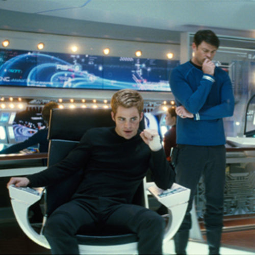 Smart thrills and slick kicks: Star Trek.