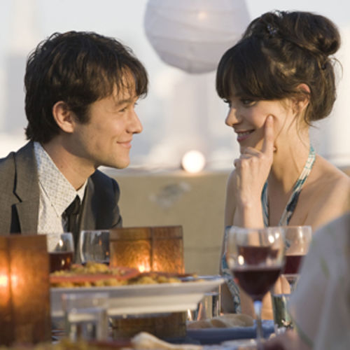 Love story in a blender: (500) Days of Summer, with Joseph Gordon-Levitt and Zooey Deschanel.