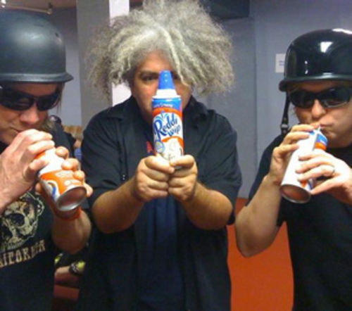 The Melvins sample the latest in top-of-the-line inhalants.