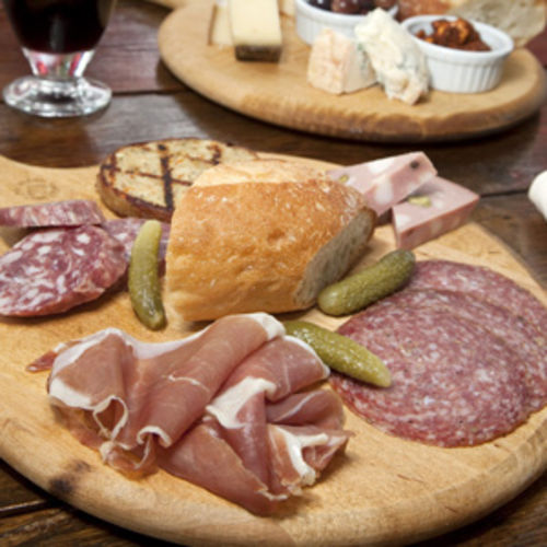 It's a great place to nibble on a meat or cheese plate.