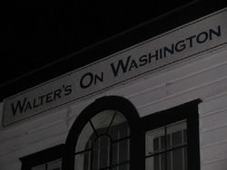 Walter\'s on Washington Takes on Its Tormentors
