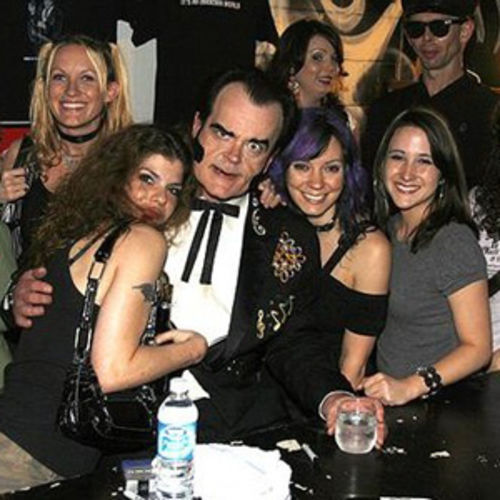 "Unknown Hinson and some of his ""womans"" friends: ""The womans all wants Unknown Hinson."""