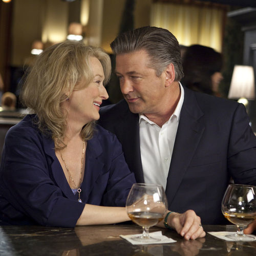 Exes Jane (Meryl Streep) and Jake (Alec Baldwin) reconnect.