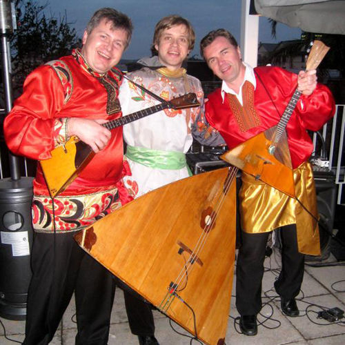 The Flying Balalaika Brothers herald the ­arrival of the Volcano's Russian Spring.