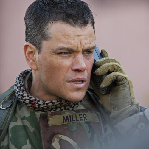 Matt Damon's character keeps looking for WMDs and not finding them.