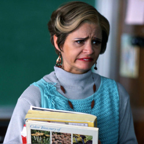 Amy Sedaris's Jerri is screechy and clingy, and possessed of unwarranted sex-bomb bravado.