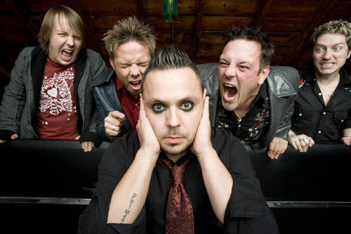 Blue October's official band photos — such as these from the 2007 album Foiled...