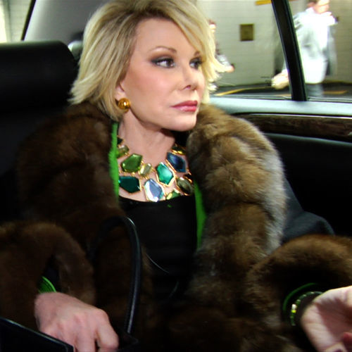 Joan Rivers is less informative dish than infomercializing cliché.