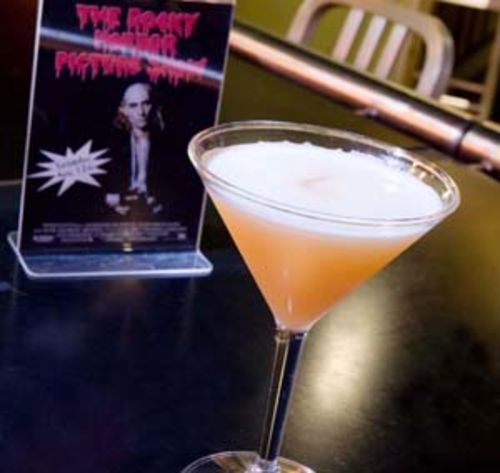River Oaks Lounge's bellini martini