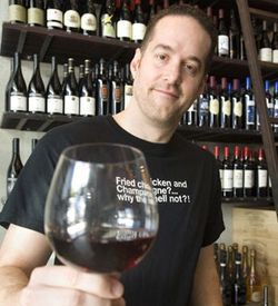 "Michael Housewright calls himself a ""silly wine nerd."""