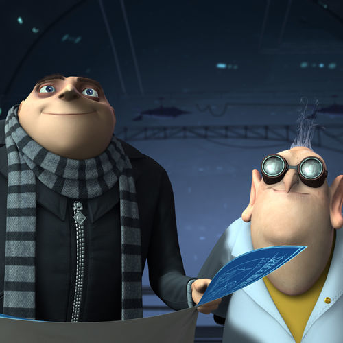 The 3-D actually works well in ­Despicable Me, with voices by Steve Carell and ­Russell Brand.
