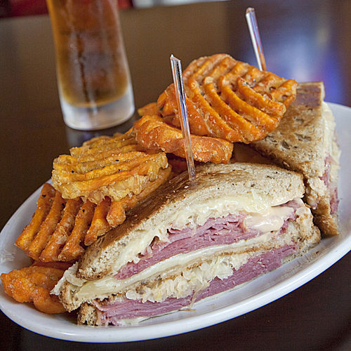 The Dynamo Reuben is a triple-decker.