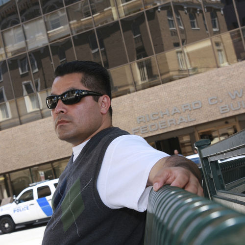 Eduardo Beckett, attorney for the El Paso nonprofit Las Americas Immigrant Advocacy Center, is leading the legal battle to help innocent Mexicans caught up in the drug violence gain asylum and protection in the United States.