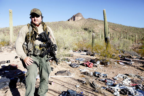 "Pinal County sheriff's sergeant Brian Messing at the shooting site: ""We had some bad tactics that day, errors we had to look at."""