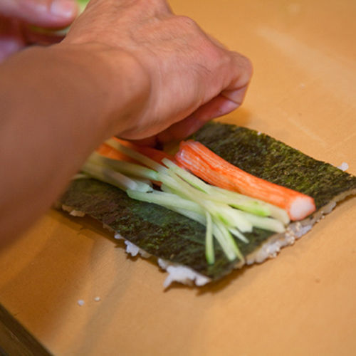 The cuisine at Sushi Miyagi is prepared by a 30-year veteran from Okinawa.