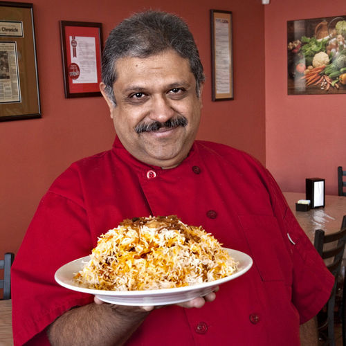 Kaiser Lashkari serves fragrant Pakistani food at Himalaya.