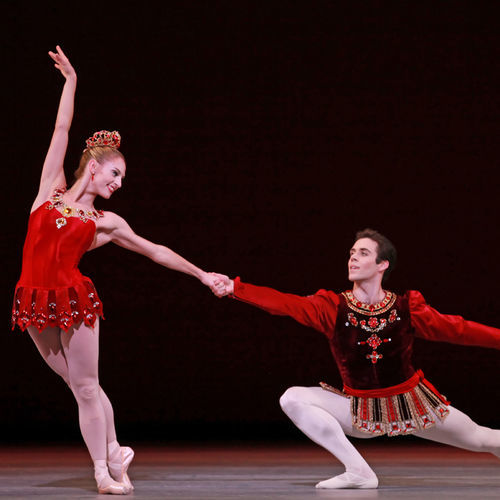 One to watch: New soloist Melissa Hough (with Houston Ballet favorite Connor Walsh).