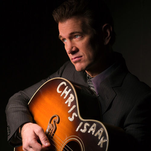 Chris Isaak rarely misplaces his guitar.