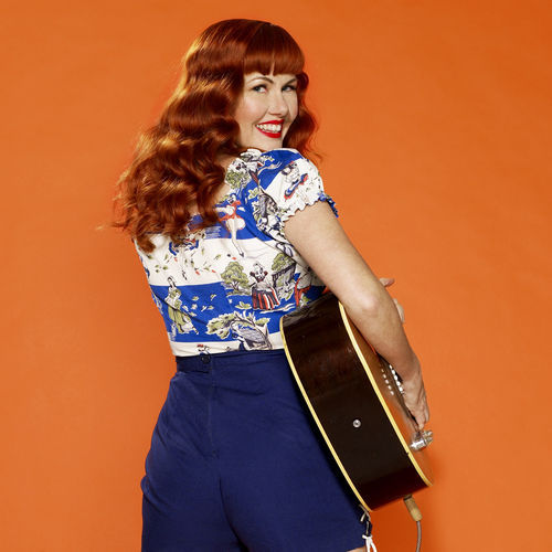 Kim Lenz is up to her old rockabilly tricks again on It's All True.