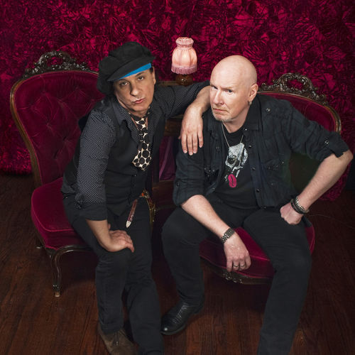Sylvain Sylvain (left) and Cheetah Chrome put some Southern swagger in the ­guitarists' new project, Batusis.