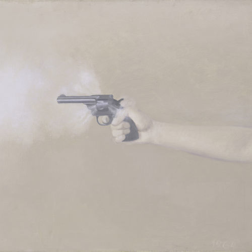 Image of violence: Gun with Hand #1.