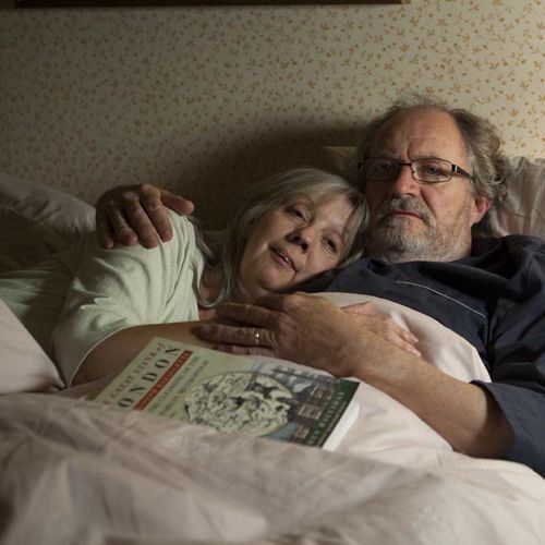 Entitled contentment: Gerri and Tom (Ruth Sheen and Jim Broadbent).