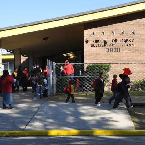 Many parents, teachers and students at Isaacs thought HISD made a mistake when it ­proposed making them an Apollo school.