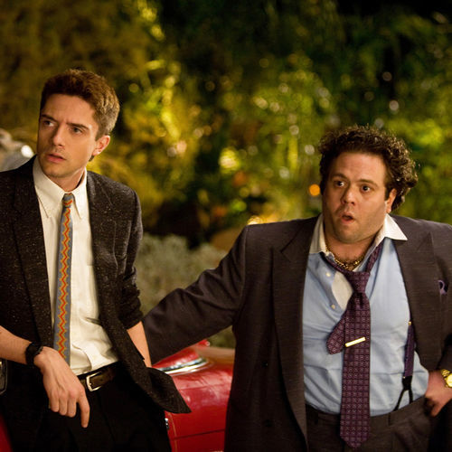 Topher Grace and Dan Fogler embark on a one-crazy-night odyssey.