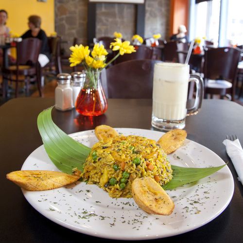 The Macondo del mar is the restaurant's signature dish.