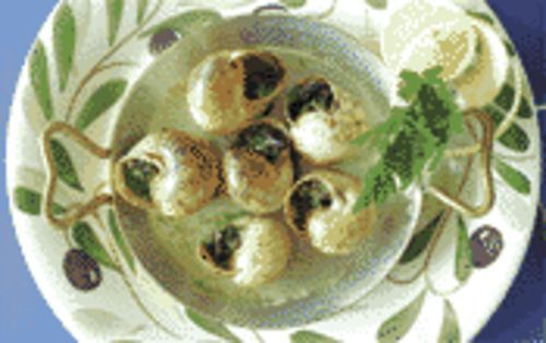 More than an excuse for garlic butter: Bistro Provence's escargots.