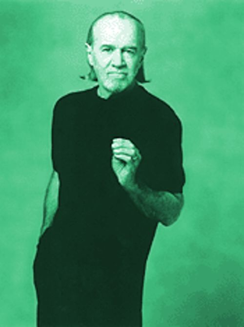 George Carlin may be crusty, but he's cool.