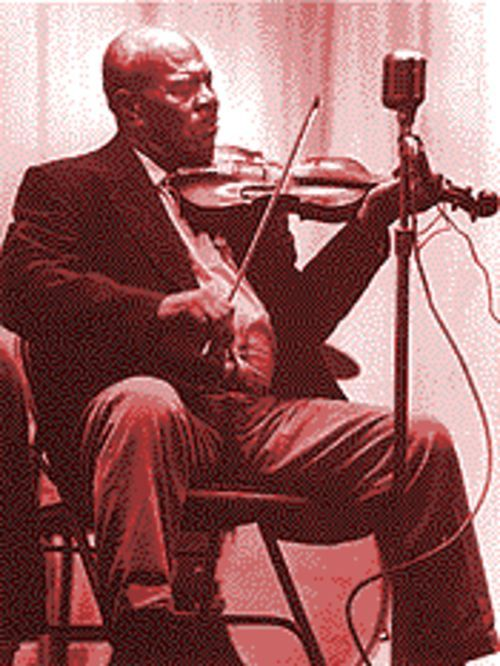Owens stocked UT's archives with the central Texas music of fiddler Teodar Jackson.