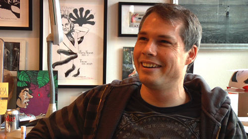 The Big Get: Shepard Fairey, along with Banksy, one of the two most famous street artists in the world, reminisces about his Houston misadventures in the film.