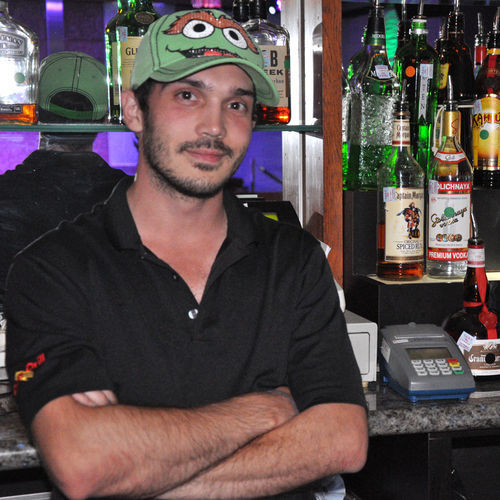 Mike Kumaus, a former bartender at Meteor, hadn't seen many of his regulars since F Bar opened — so he followed them there. Now, he's banned for life from every one of Armstrong's bars.