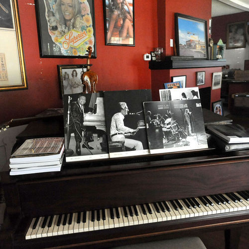 Fats, Jerry Lee and Van the Man were but three of the touring legends to have radiated the Armadillo piano's 88 keys; above, a portrait of the iconic Austin shrine as it appeared in its heyday.