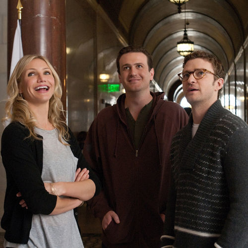 Dubious prize: Elizabeth (Cameron Diaz, with Jason Segel and Justin Timberlake).