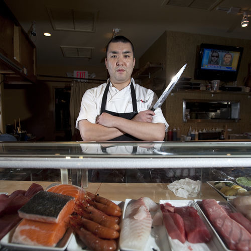 Manabu Horiuchi takes great pride in his Japanese snapper, but he isn't opposed to using Gulf snapper at Kata Robata.